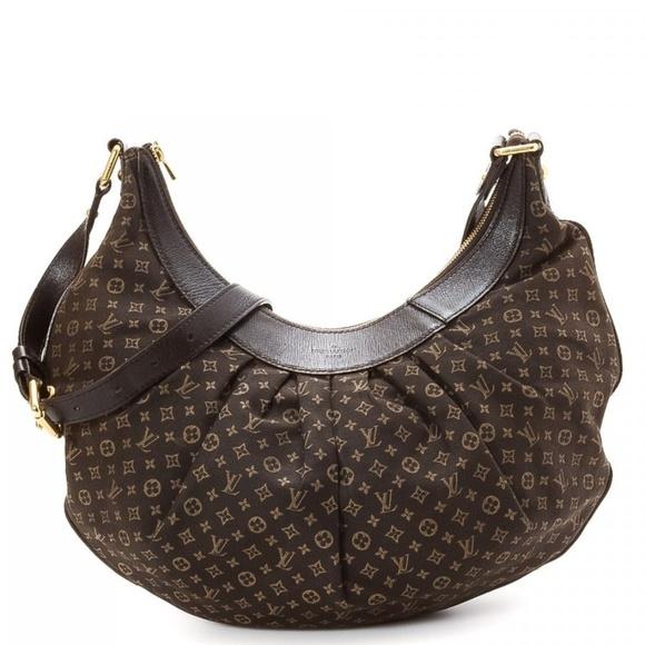 04d451647d5 Louis Vuitton Handbags - Louis Vuitton Rhapsodie Mini Lin brown MM Bag EUC